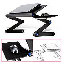 Регулируемый складной стол для ноутбука Настольный стол для вентилятора Стойка для переноски Портативный лоток