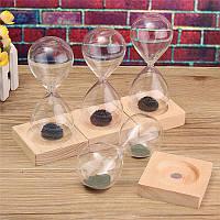 Рука-выдувное стекло Песок Магнит Магнитный Песочные часы Таймер Часы Подарок Home Decor