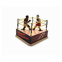 ClassicВинтажЗаводнойWindUpбоксерский ринг боксеры Дети Дети олово игрушки с ключом
