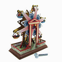 SkySteelClassicВинтажЗаводнойзавод Wind Up Дети Дети оловянные игрушки с ключом