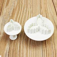 Ultralight Clay Набор Пресс-папье для штамповки с хризантемой из тисненой бабочки DIY