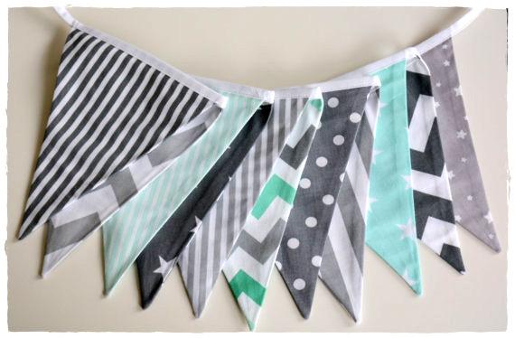 Гірлянда прапорці для дитячої (довжина 255-260см)