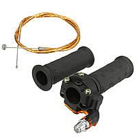 Ограничиваемый кабель твист-дроссельной заслонки для мотоциклетного велосипеда с механическим приводом 47cc 49cc