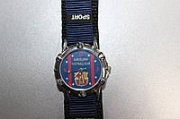 Часы наручные с символикой FC Barselona