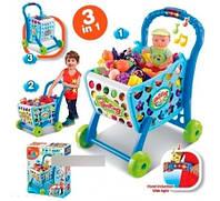 Игровой набор Супермаркет 008-902 с тележкой и продуктами(звук, свет)