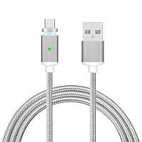 Bakeey ™ 1M 2A Nylon Плетеный магнитный зарядный кабель Micro USB для мобильного телефона