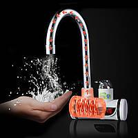 220V цифровой Дисплей Мгновенный нагрев электрической воды Нагреватель смеситель для крана