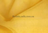 Фатин 100/75 см, желтый/золото