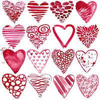 5x7ft День Святого Валентина Красная любовь Сердце Фото Фон Студия Фон Prop