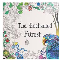 Зачарованный лес для взрослых Английский граффити-раскраска Дети Живопись Книги