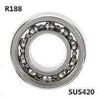 R1886.35x12.7x4.763mmшариковыйподшипник10шариков SS420 подшипник Nano Мячи для непослушной прядильной машины