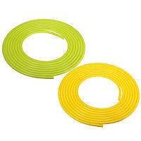 5м Длина силиконовый вакуумный шланг Труба Труба НКТ Желтый Зеленый 4мм ID 8mm OD