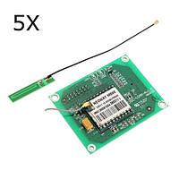 5шт GSM GPRS SIM900 1800MHz Короткие сообщения службы м590 SMS модуль DIY Набор для Arduino