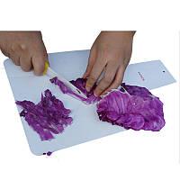 ALOCS Складная режущая доска Пластиковая портативная ультралайтная измельчительная доска Outdooors Picnic