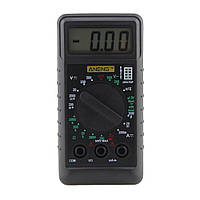 ANENG Mini цифровой Мультиметр с защитой от перегрузки тока и напряжения, Ом Омметр DC AC LCD Портативный