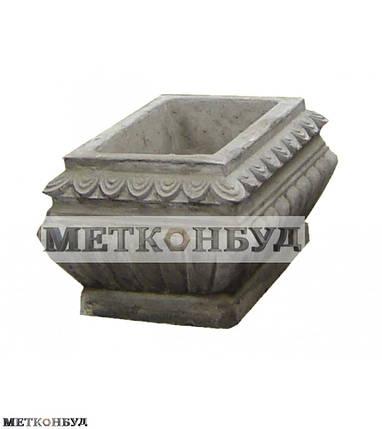 Цветочница бетонная К-4 (90 кг 54*54*41), фото 2