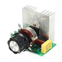 3800W AC 220V SCR Цифровой регулятор напряжения Затемняющий Контроль скорости Термостат