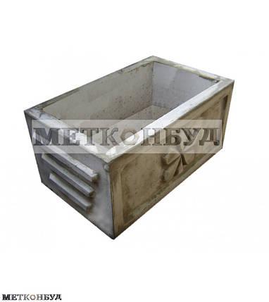 Цветочница бетонная К-9 ( 110 кг. 40*40*60 см), фото 2