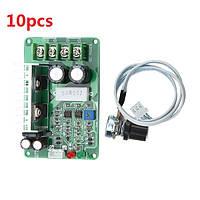 10шт PWM DC регулятор скорости 12V / 24V / 36V 15A контроллер перегрузки Stall Защита от перегрузки по току