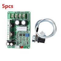 5pcs PWM DC регулятор скорости 12V / 24V / 36V 15A контроллер перегрузки Stall Защита от перегрузки по току