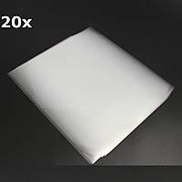 20шт 42x29.6cm A3 для струйной печати Лазерная печать пленка Прозрачная изготовление печатных форм трафаретной печати