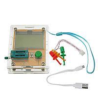 LCR-T8 СОЭ Транзистор Конденсатор тестер Диод Триод Индуктивность измеритель емкости