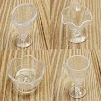 Новый DIY Mini Cup Мороженое Saints Cup Кубок сливочной плитки Кубки Липкие мини-пластиковые гаджеты