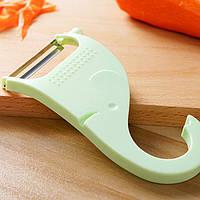 Мультфильм слон Форма Многофункциональный Овощной Фруктово Овощечистка картофеля Slicer Cutter нож кухонный инструмент