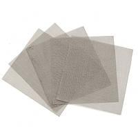 5Pcs 10х10см тканая из нержавеющей стали для фильтрации Гриль Лист Фильтр 120 Mesh