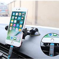 Bakeey ™ Универсальный 360 градусов вращения присоски Авто Телефон Держатель колыбели для телефона под 6 дюймов