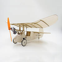 Flea Balsa Wood 358MM Wingspan Micro RC Airplane Newton Набор с системой питания
