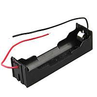 20pcs DIY 1 слот 18650 Батарея держатель с 2 проводами