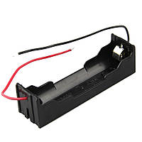10штук DIY 1 слот 18650 Батарея держатель с 2 Провода
