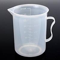 250ml Пластиковый мерный стаканчик Очищающий двухцилиндровый измерительный кувшин