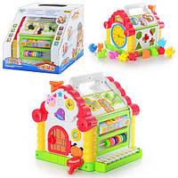 """Развивающая игрушка-сортер """"Теремок"""" Joy Toy  9196  для мальчиков и девочек"""