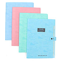 8 Inter Layers Аккордеон Дизайн Держатель документов Хранение Связующее Хранение Хранение Сумка для бумаги A4