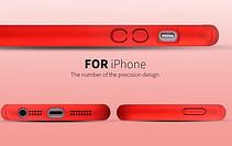 Защитный чехол для iPhone 5 5S серебристый, фото 3