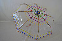 "Прозрачный зонт механика  от фирмы "" Susino"""
