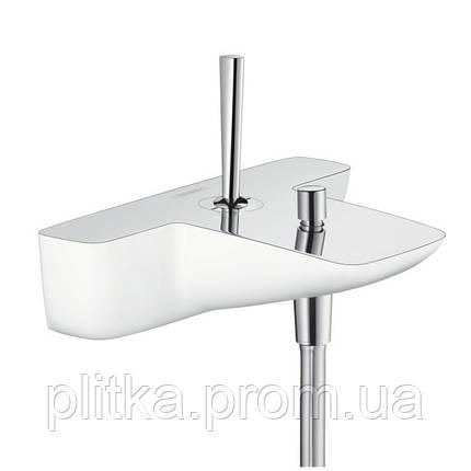 15472400 PuraVida смеситель для ванной белый/хром, фото 2