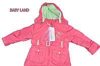 РАСПРОДАЖА! Демисезонная курточка COCCOBELLO, для девочки, 92-116