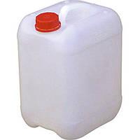 Канистра пустая Б/у 10 литров.Химически стойкая .+