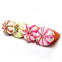 Новые милые мороженое Смешные моделировать красочные мультфильм Тоторо Squishy игрушка снятие стресса