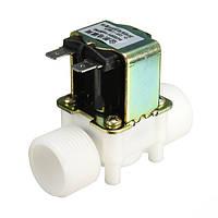 3/4inch AC 220V электромагнитный клапан Электрический водяной клапан N/C контроль оборудования