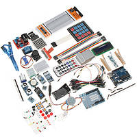 UNO R3 Starter Набор с Сервопривод LCD Гироскоп компас Макетная для Arduino