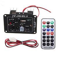 12V аудио сабвуфер MP3 декодер плата Усилитель с функцией Bluetooth USB Дистанционное Управление