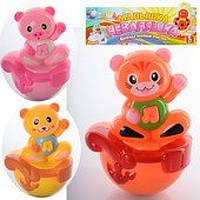 Детская игрушка-неваляшка животные (1073)