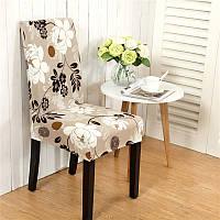 Honana WX-915 Элегантный цветочный пейзаж Упругие Stretch стул крышки Столовая Домашний декор Свадебный