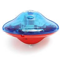 Красочный стоящий НЛО дрифт Фонарик Музыка Гиро спиннинг сверху с ключом открытия