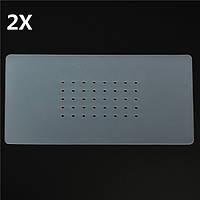 2 штук Non-Slip Силиконовая резина Мат Коврик для ЖК-экрана Вакуумный сепаратор