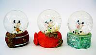 Стекляный шар со снегом Корова